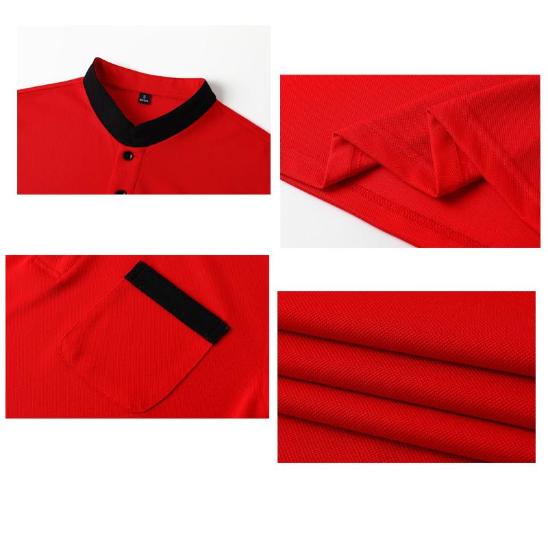 #1901-Stand Collar Shirt