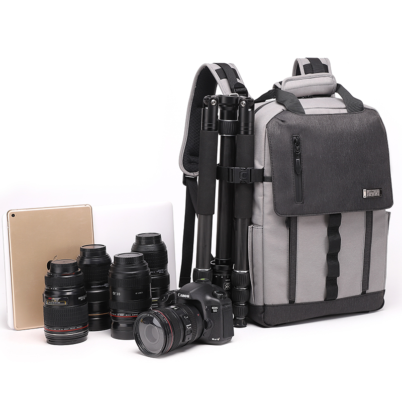 Best Selling Diat BRTSM21 Waterproof laptop camera bag multifunctional digital camera and tripod backpack
