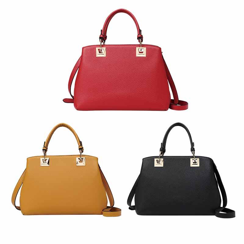 Best-selling fashion women's PU Leather handbag-HZLSHB008