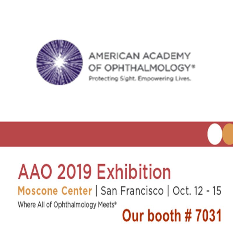 Welcome to visit us at AAO 2019 Exhibition