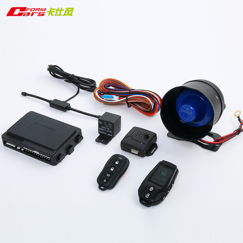 two way hopping code lcd remote controller car security auto alarm system
