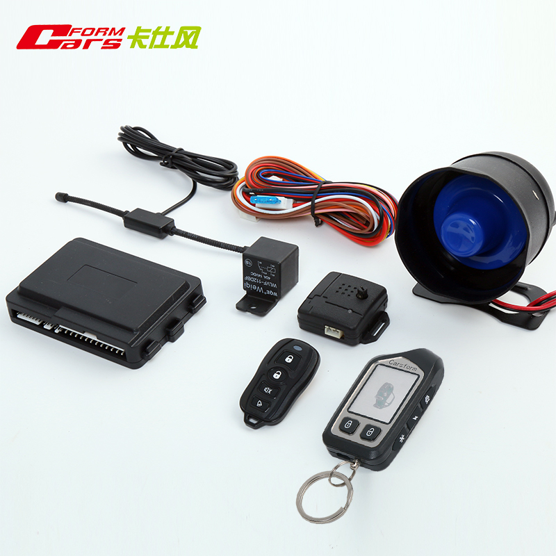 Two Way LCD Vehicle Car Alarm code grabbers and remote keyless entry