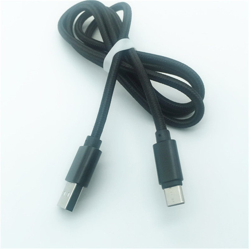 KPS-1005CB TYPE C  2m high quality OD4.5MM fast charging 2.4A C type data phone cable