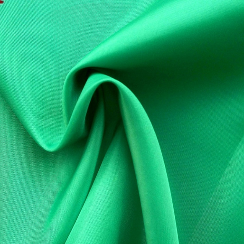 Polyester Raincoat Fabric PVC Coating 210T Taffeta Fabric for Clothing Textile