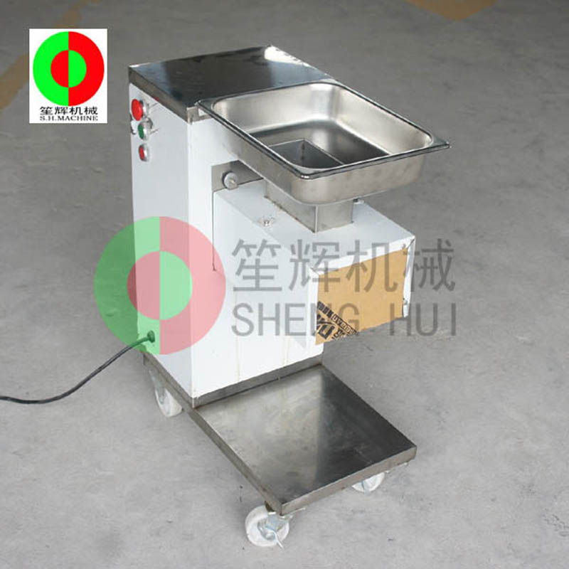 Introduction of the use of the new meat slicer