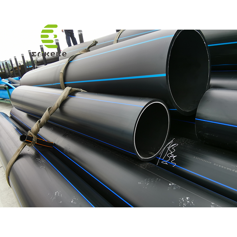 The High Pressure 150mm hdpe pipe For Drink  Water