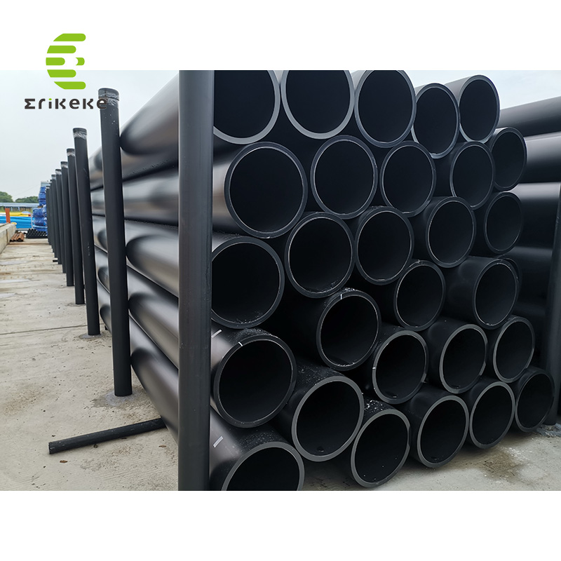 The High Pressure large diameter hdpe pipe