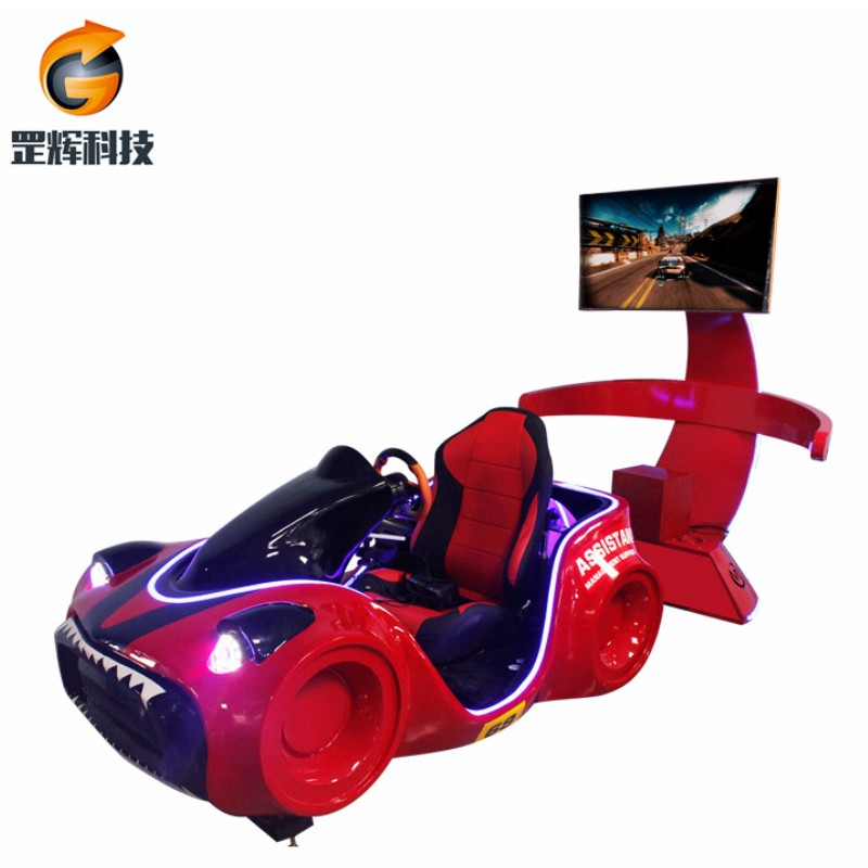 Racing Simulator VR Machine Global hot sale theme park equipment three-axle vr racing car