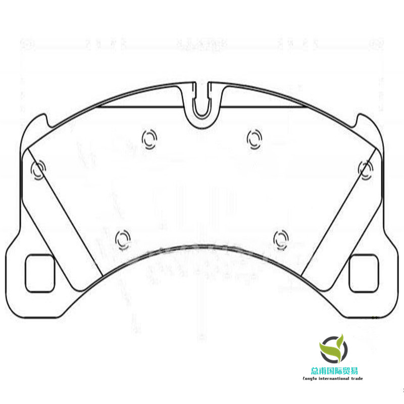 Brake pads (OE: 958 351 939 30 )