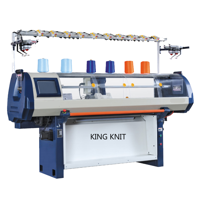 Computer automatic flat knitting machine: