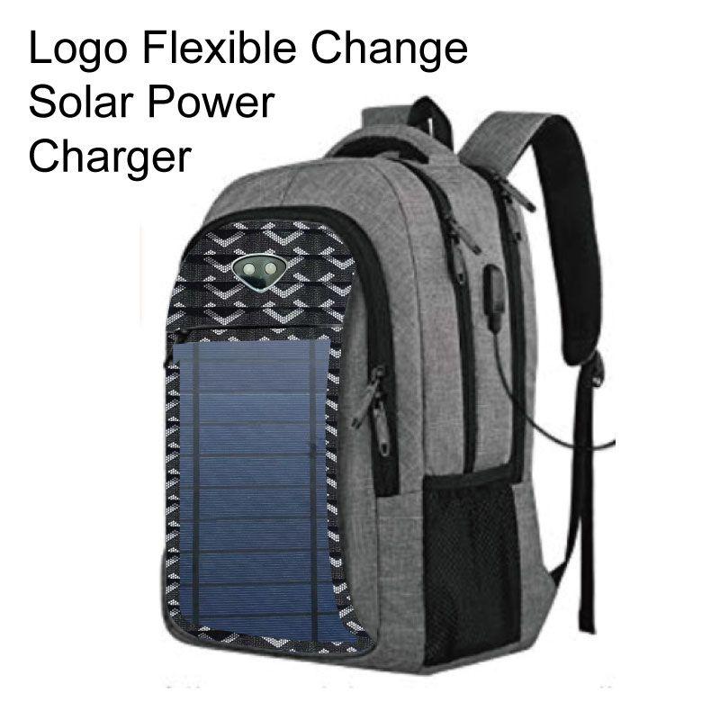 Solar Power Backpack for Men