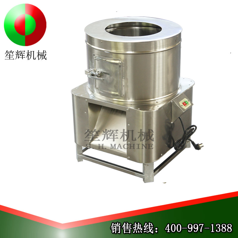 Method of removing fish scales and introduction of fish scale removal machine