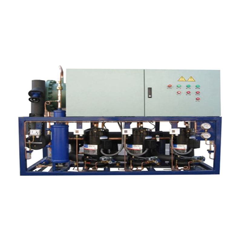 Parallel compressor condensing unit