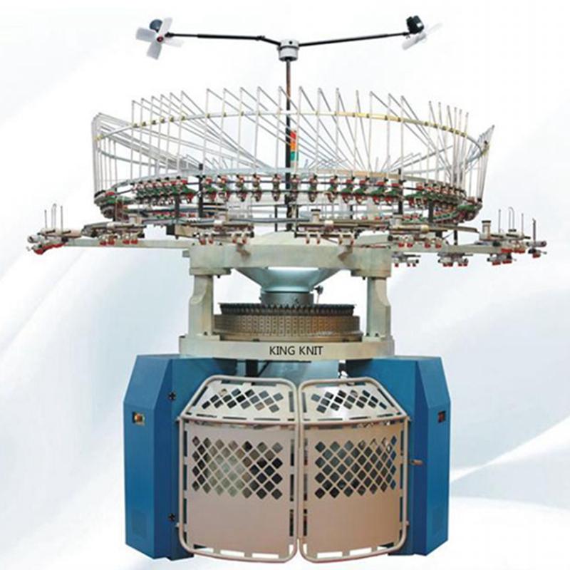 Double jersey interlock jacquard circular knitting machine mayer