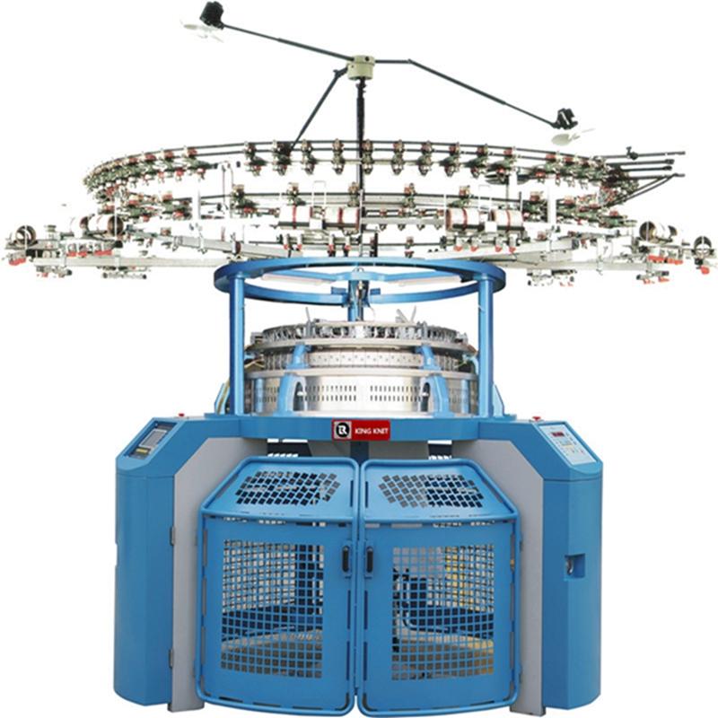 Korea 4 track single jersey jacquard circular knitting machine