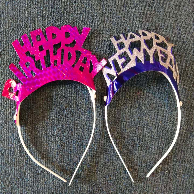 Happy New Years Party Favor Headband Tiara New Years Eve Party Decorations