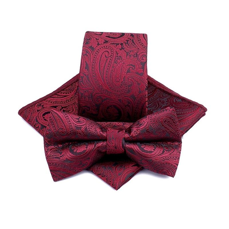 100% Microfiber Woven Necktie