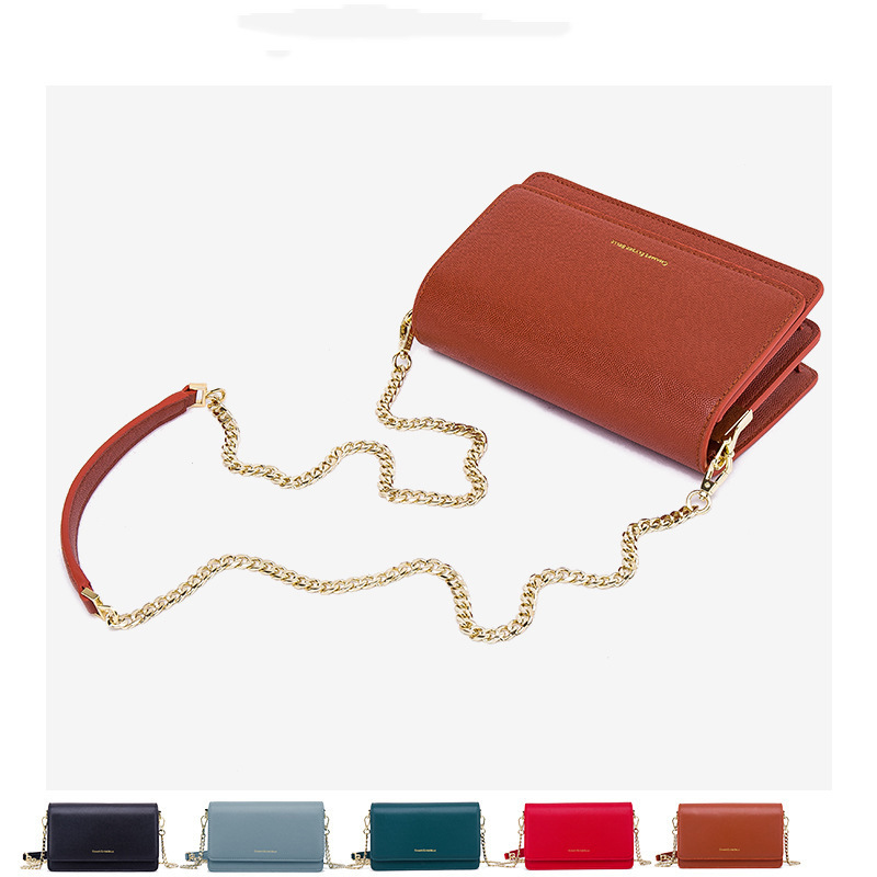 Baggage Girl 2019 New Ins Super Fire Single Shoulder Slant Chain Small Square Bag Fashion Korean Version One Delivery Girl Bag