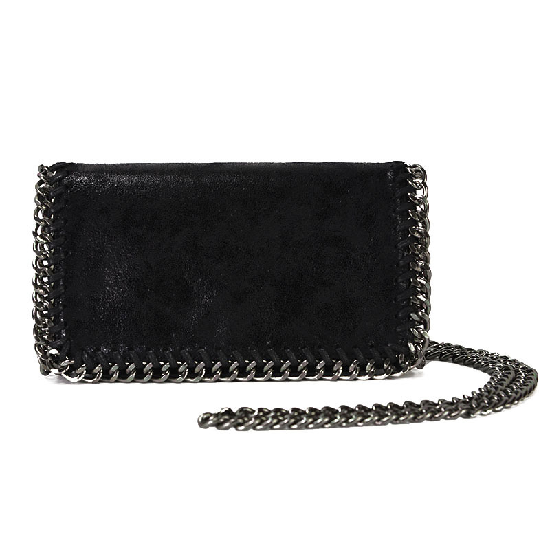 2019 Women's Bag Fashion Simple One Shoulder Slant Chain Bag Korean version Banquet Handbag Manufacturer Wholesale