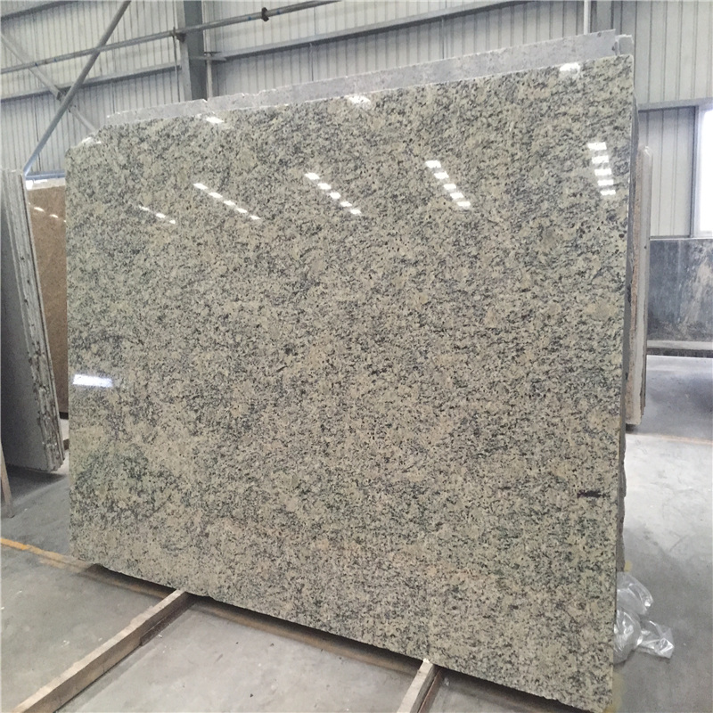 Giallo Santa Cecilia Granite for Countertops Slab