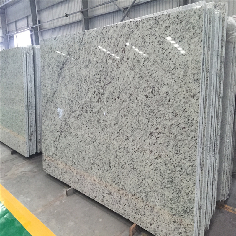 Luxury white rose granite slab