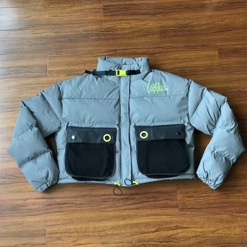 reflective down jacket