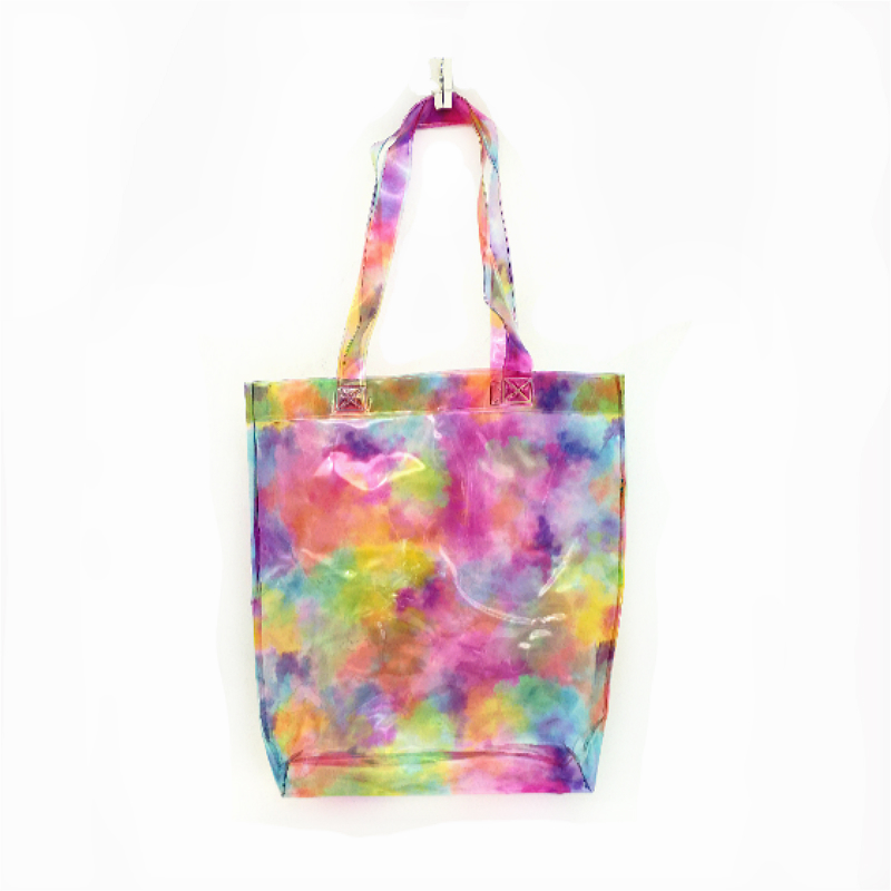 shopping bag with bright color