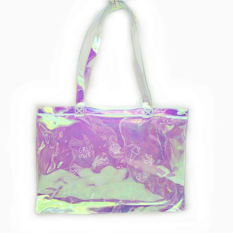 PVC holopraphic shopping bag