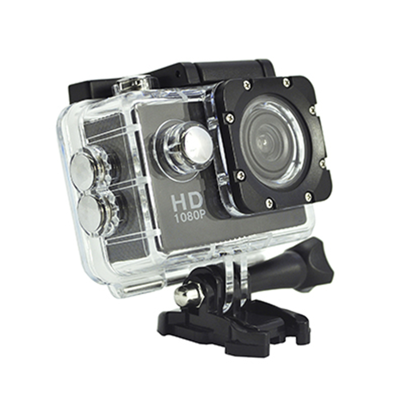Portable Real HD 720P Action Camera 140-degree View Angle 2.0-inch Screen D12A