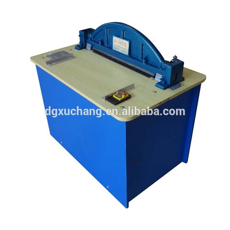 shoe bag leather punching machine