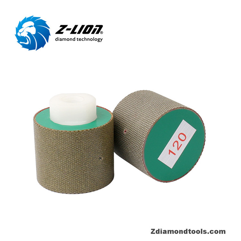 Z-LION Resin Continuous Grinding Drum Wheel for Stone Polishing ZL-ED