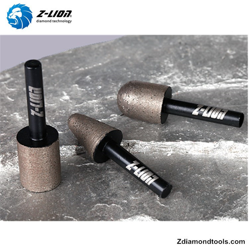 ZL-25EA Diamond burr tools for stone caving