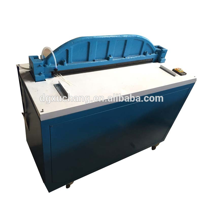 leather hole punching perforation machine