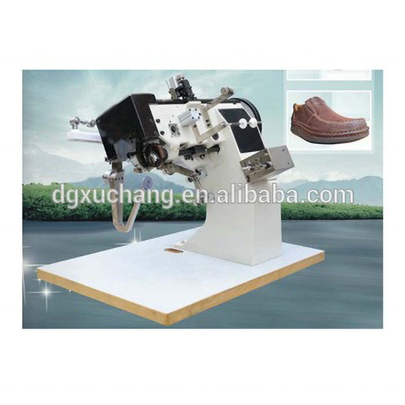moccasin upper sole stitching shoe sewing machine prices