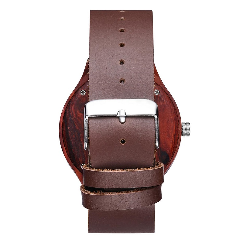 Wrist Wood Watch And Best Leather Valentine Couples Wrist Watch