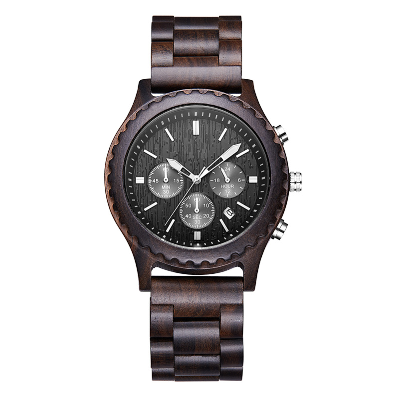 Luxury Gifts Fashion Wooden Watch Men Casual Military Male Clock