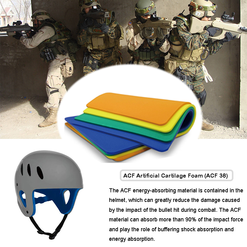 Tactical Bulletproof Military Helmet Impact Protection Materials(ACF)