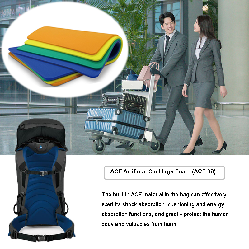 Comfort PU Cushion Materials Travel Luggage Insert Impact Protection Pad(ACF)