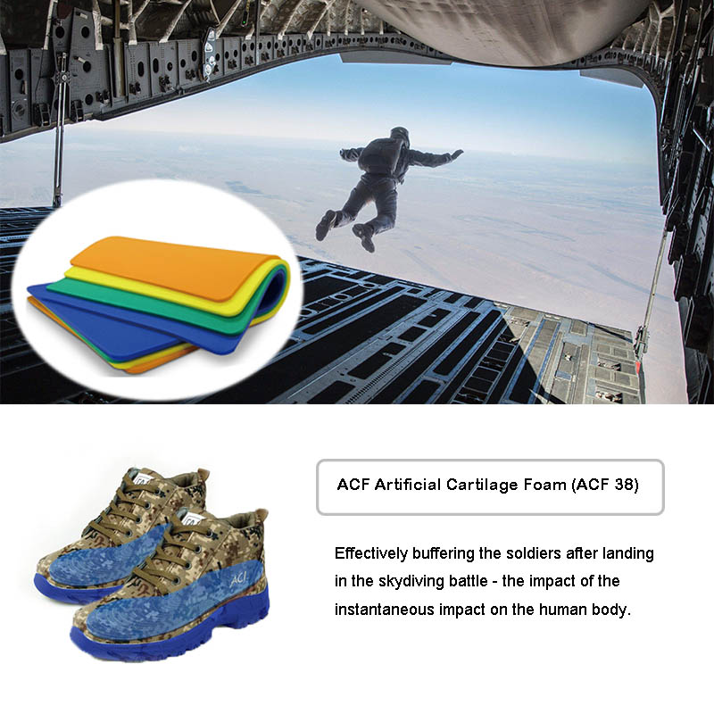 Air Force Skydiving Safety Landling Boots Cushion Protection Materials(ACF)