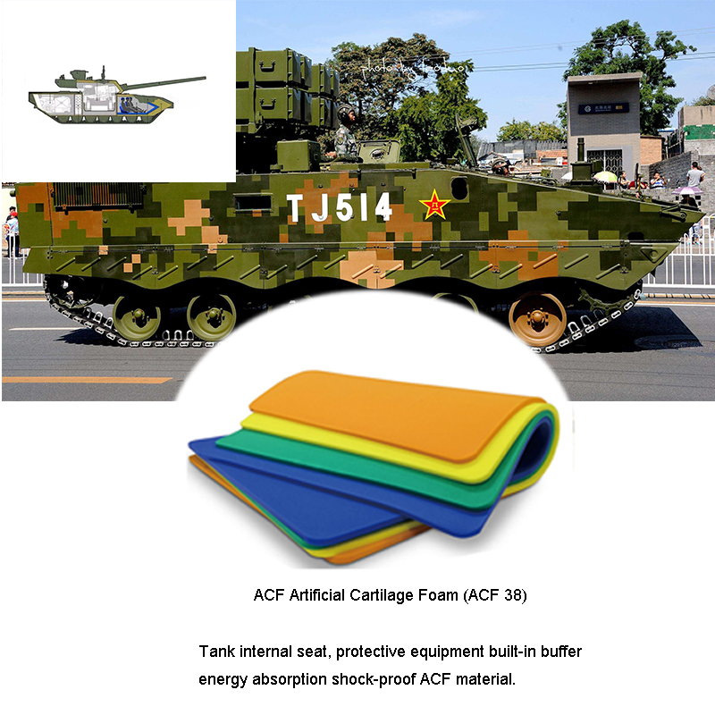 Military Tank Airdrop Keep Tank Stable Wheel Seat Cushion Materials(ACF)