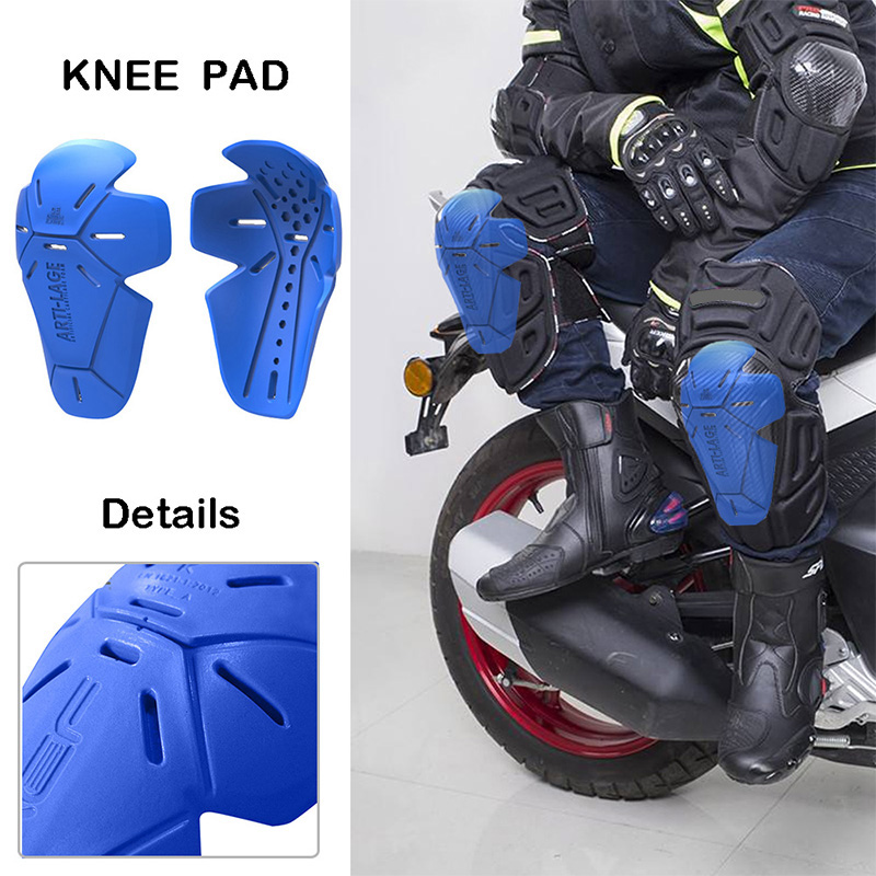 Motorcycle Enthusiast Double Knee Pads Built-in Gasket (ACF)