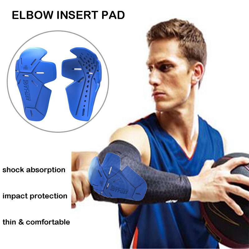 Sports Protection Basketball Anti-impact Shock Absorption Elbow Insert Pad (ACF)