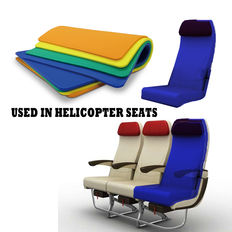 Our Foam Pad Can Also be Used on The Explosion-proof Seat of The Helicopter.(ACF)