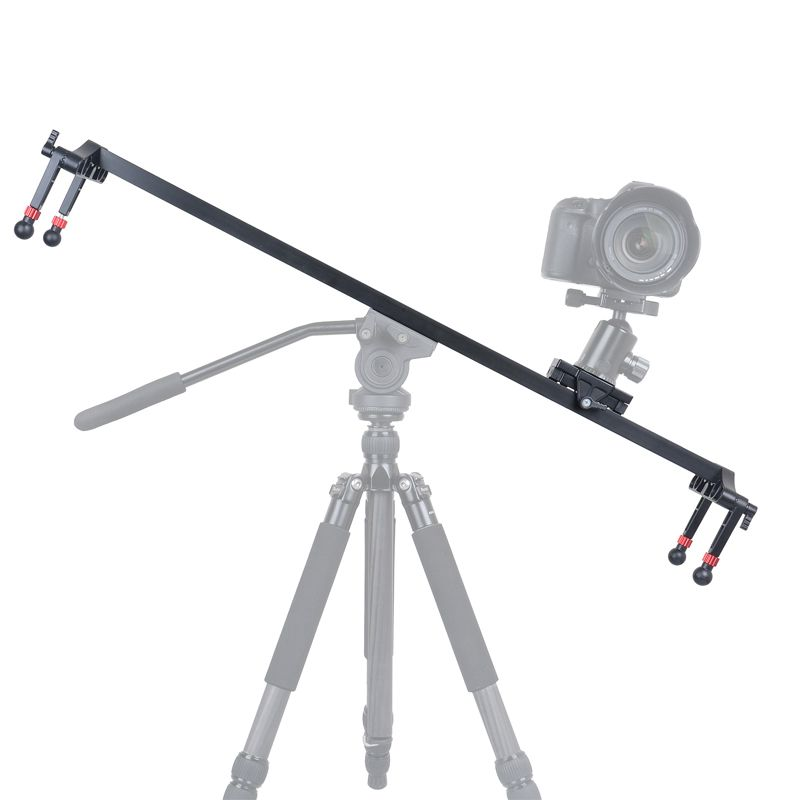 KINGJOY VM-100 1000 mm Length Aluminum Wearable Camera Rail Slider with Smooth Movement for Photo and Video