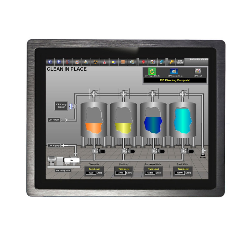 The advantages of Weiqian industrial panel pc