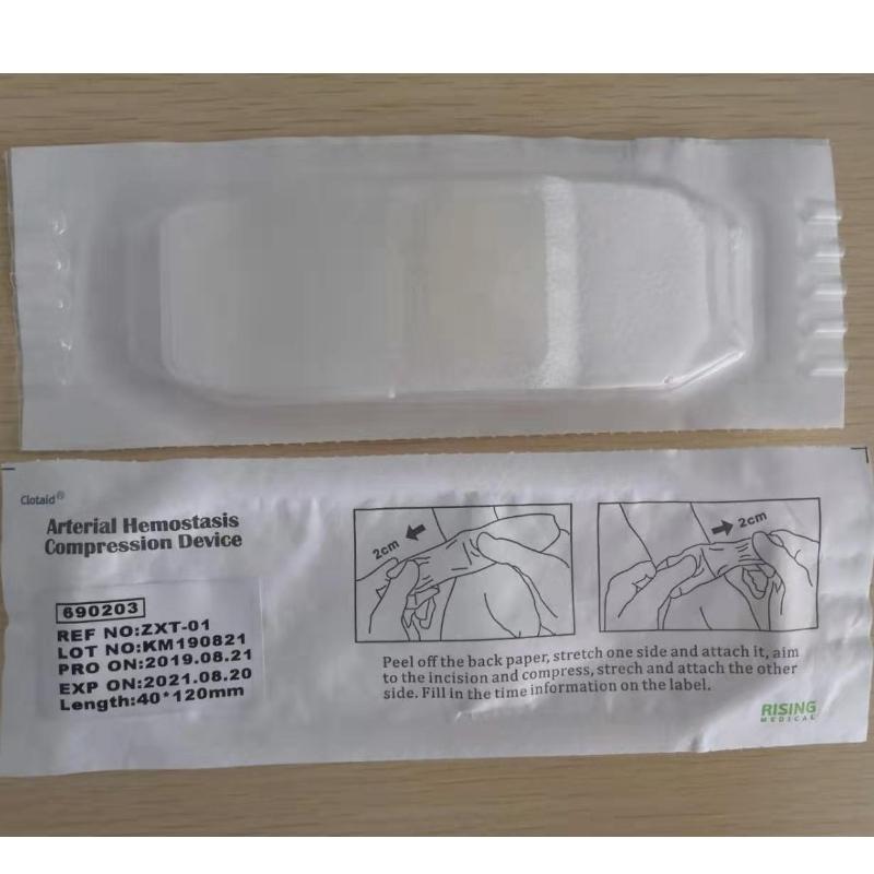 Clotaid Arterial Hemostasis Bandage