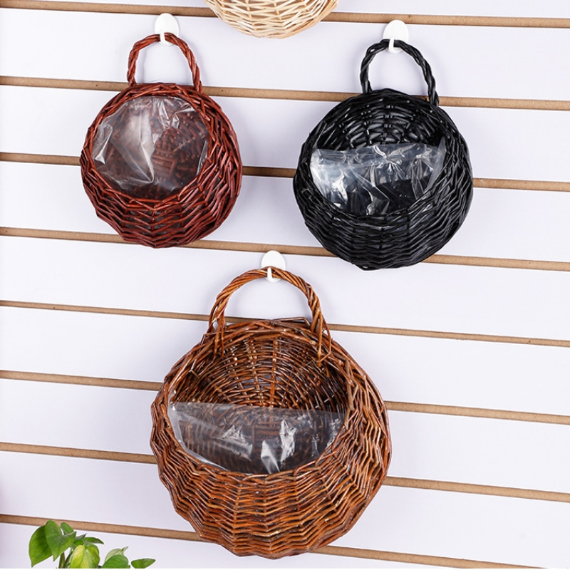 Handmade Woven Hanging Basket/Artistic Home Decoration