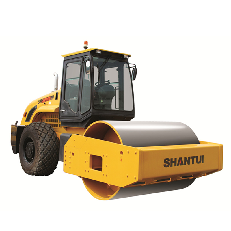 Shantui Official Manufacturer 22t Mechanical Single-Drum Vibratory Roller SR22mA