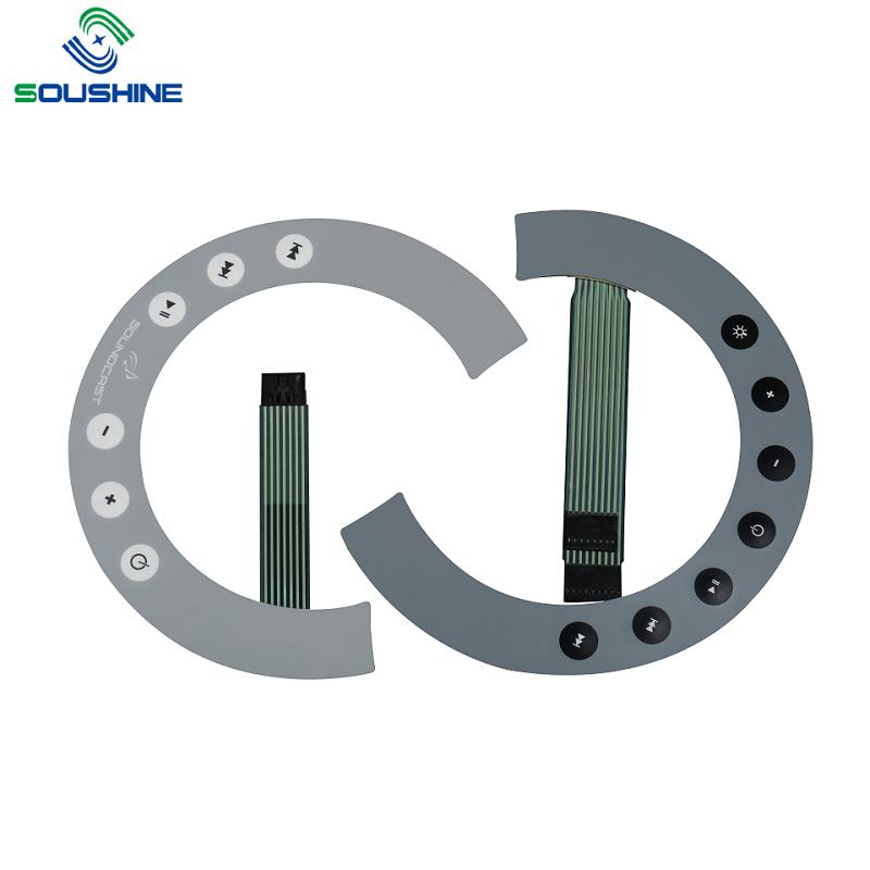 Custom Microwave Oven Membrane Switch Panel