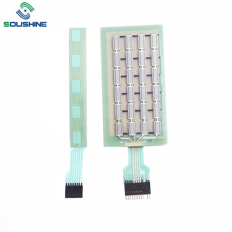 customized capacitive membrane switch circuit diagram